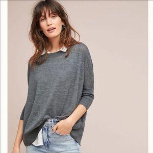 Anthropologie Wilhelmina Oversized sweater tunic M